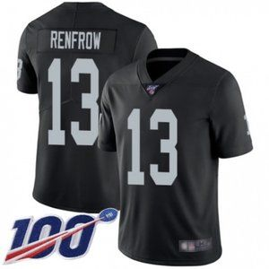 Raiders Hunter Renfrow 100th Season Jersey
